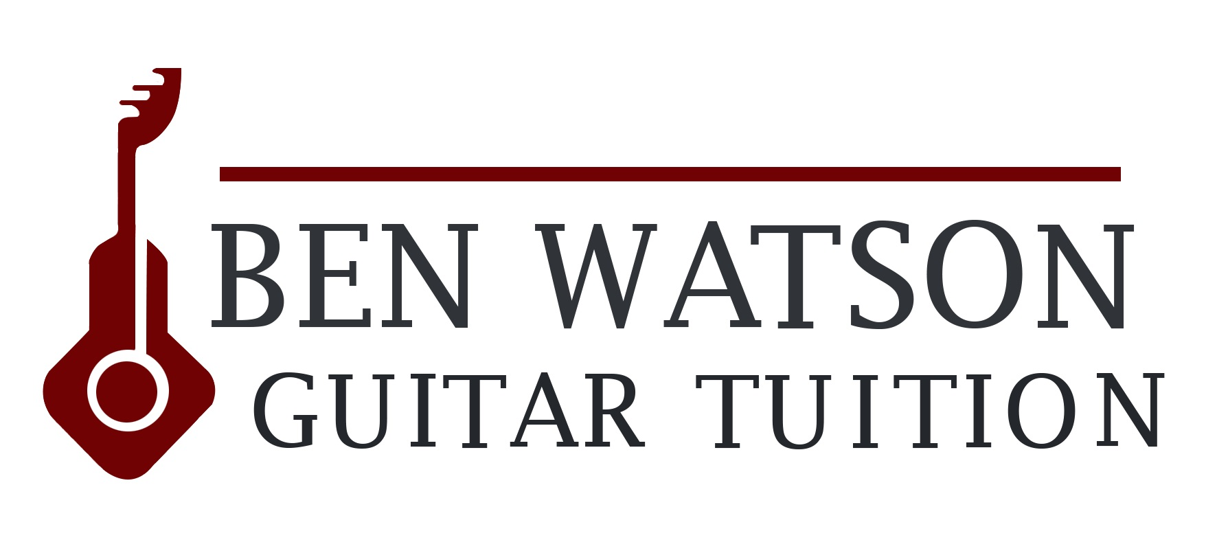 Ben Guitar Logo HI-RES back